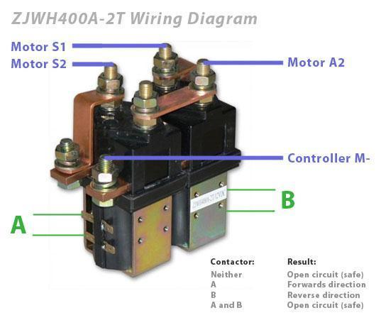 REL ZJWH400A 2T nanfeng reversing (dpdt) contactor sw202 equivalent (400a rated albright contactor wiring diagram at bayanpartner.co